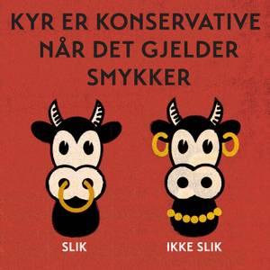 Bilde av Ragnar Aalbu, Konservative kyr