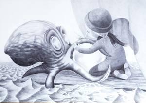 Bilde av Tuva Synnevåg, Krok av blekksprut