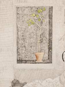 Bilde av Kirsten Opstad, Portrett av et tempeltre