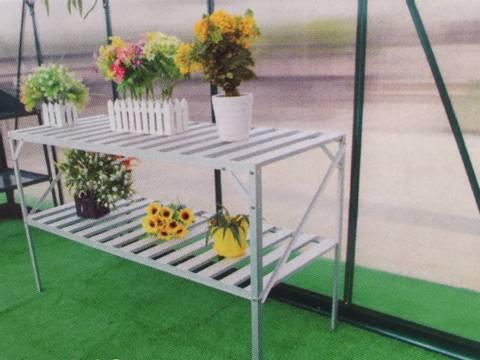 Bilde av Drivhusbord med 2 hyller