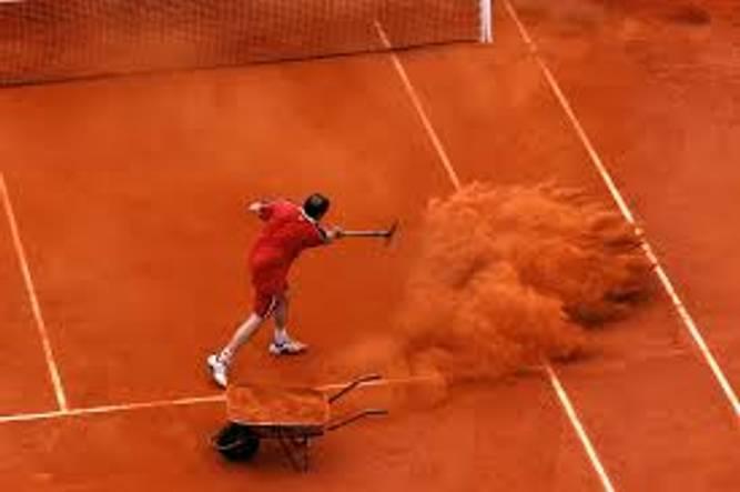 Bilde av Tennisbanegrus