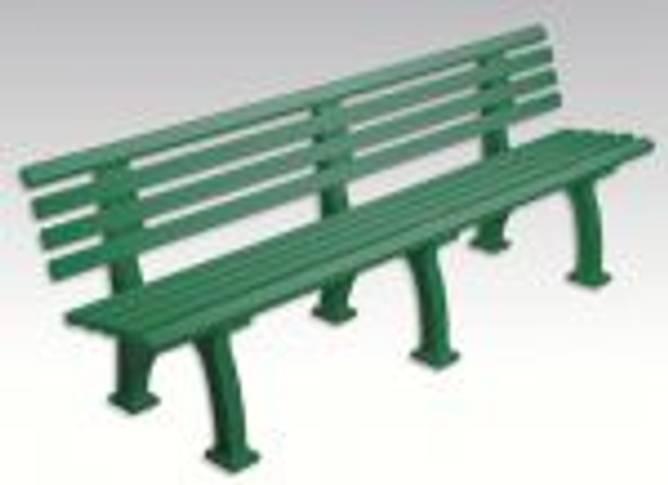 Bilde av  Benk Tennis Stor Grønn