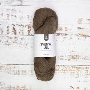 Bilde av Svensk ull 04 Log house brown