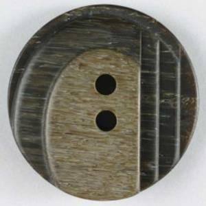 Bilde av Knapp, 18mm brun