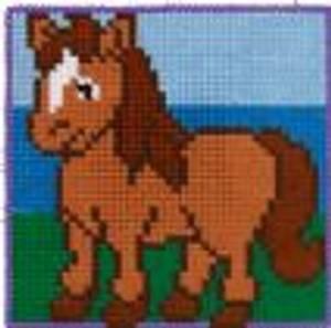 Bilde av Broderipakke til barn -Hest
