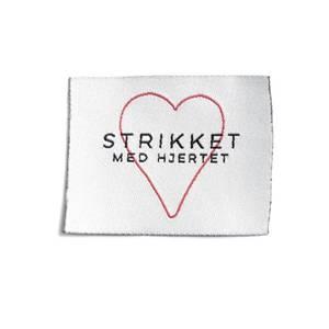 Bilde av Symerke -Strikket med hjertet