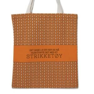 Bilde av Strikkenett, Det gode liv - oransj