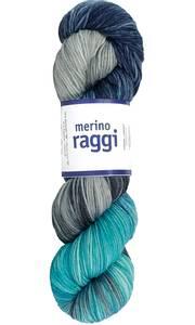 Bilde av Merino Raggi 311 Lagoon blue og lavander