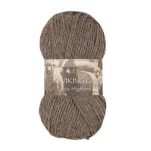 Bilde av Eco Highland Wool - 208 Brun