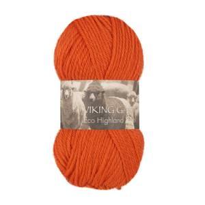 Bilde av Eco Highland Wool - 251 Oransje