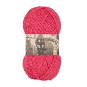 Bilde av Eco Highland Wool - 265 Rosa