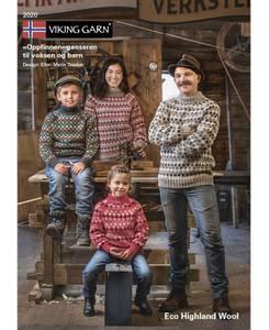 Bilde av 2020 Oppfinnergenser til barn og voksen - Eco Highland Wool