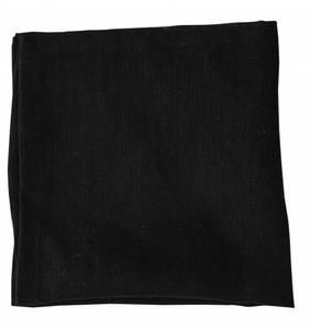 Bilde av Serviett 45x45 cm, svart 2-stk