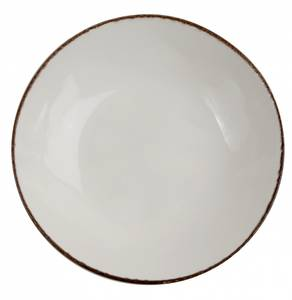 Bilde av Tallerken dyp Ø 22,5 cm Fortuna, beige, 4stk