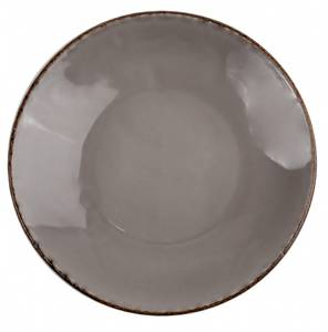 Bilde av Tallerken dyp Ø 22,5 cm Fortuna, grå, 4stk