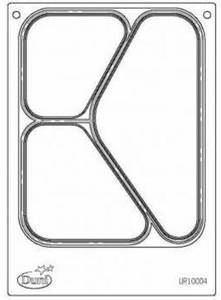 Bilde av Duni kassett for 3-roms skål til Duniform DF10 /