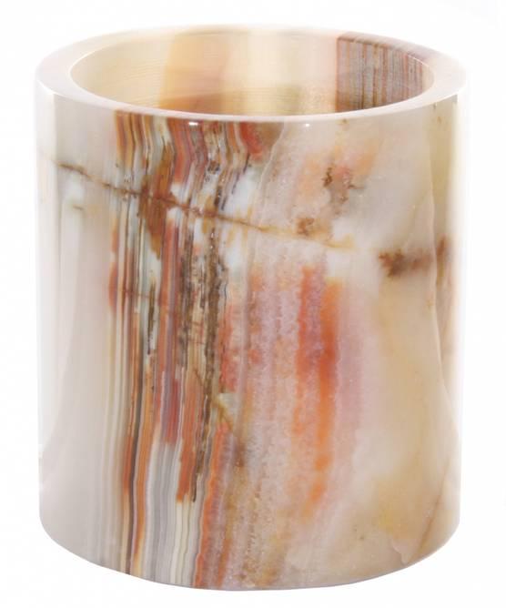 Bilde av Onyx cylinder votive ltgreen