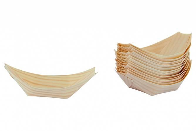 Bilde av Skål, TASTE, birk, l.: 11 cm,