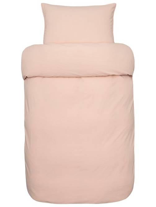 Bilde av Frøya sengesett fersken rosa