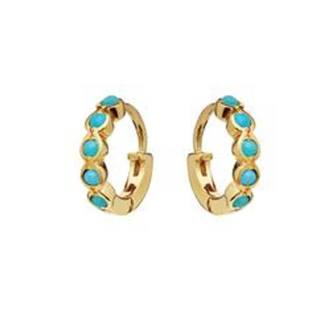 Bilde av Kanya Earrings Turquise