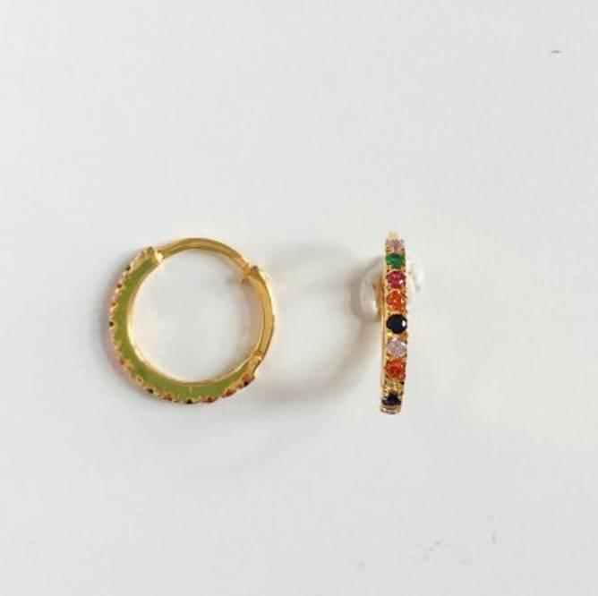 Bilde av Nubia big color earring