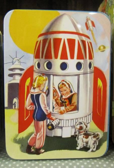 Bilde av Matboks rakett, liten