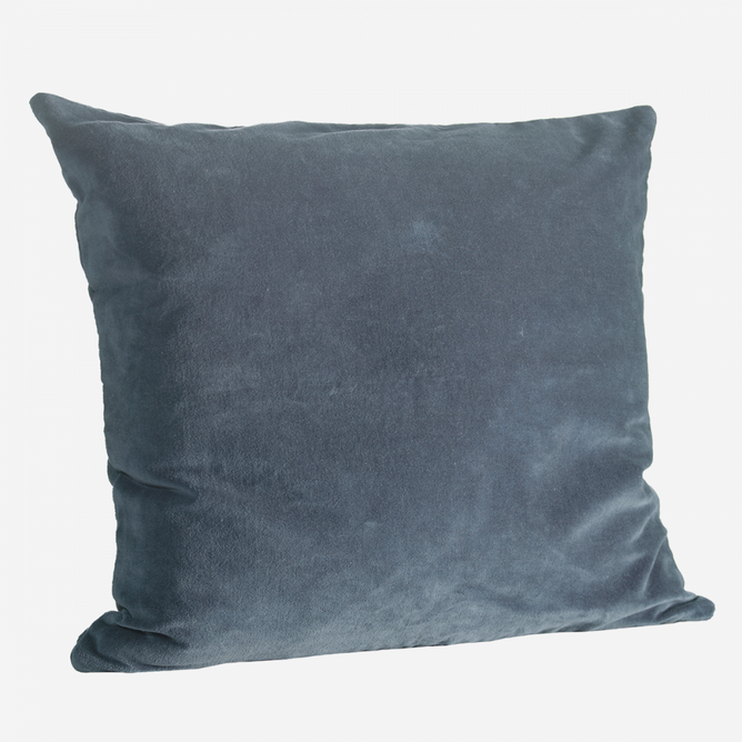 Bilde av Velvet cushion cover Dark
