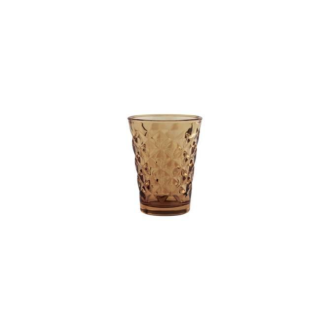 Bilde av Facet glas til lys, H 10 cm,