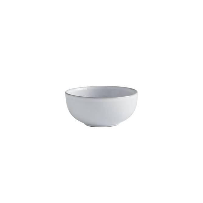 Bilde av Skål dia 13xH6,5 cm, hvit