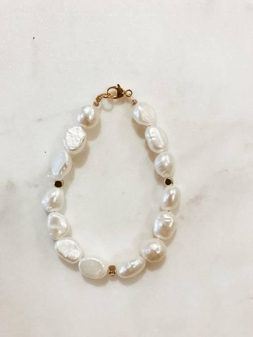 Bilde av Sofia bracelet Baroque pearl