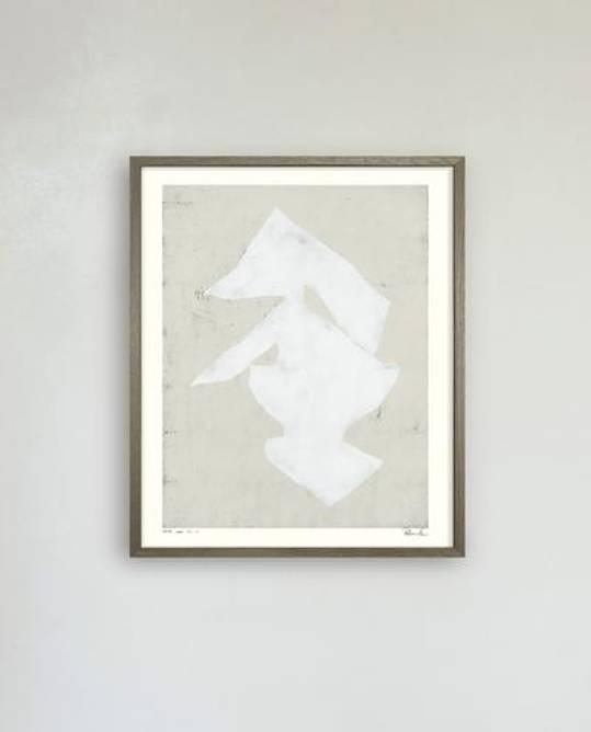 Bilde av WHITE LEAF NO. 01 / 40 X 50