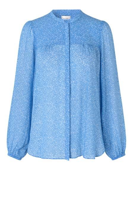 Bilde av Mano Shirt Blue Bonnet