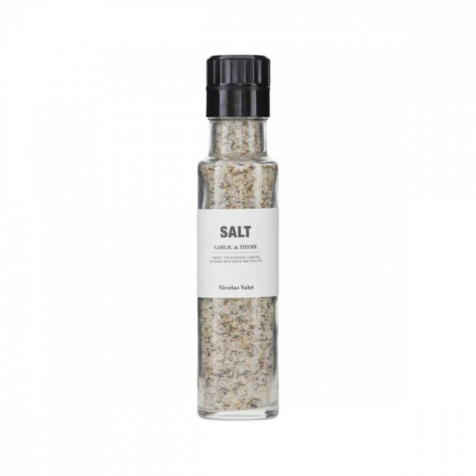 Bilde av Salt, Hvidløg & Timian, 300 g