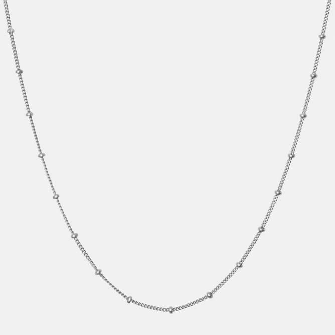 Bilde av Nala Necklace Sølv 55cm