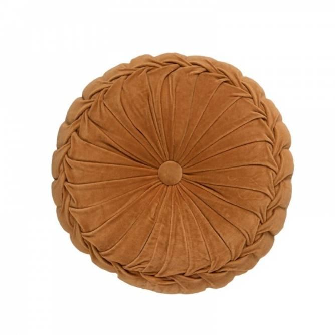 Bilde av Velour Fabric Round cushion