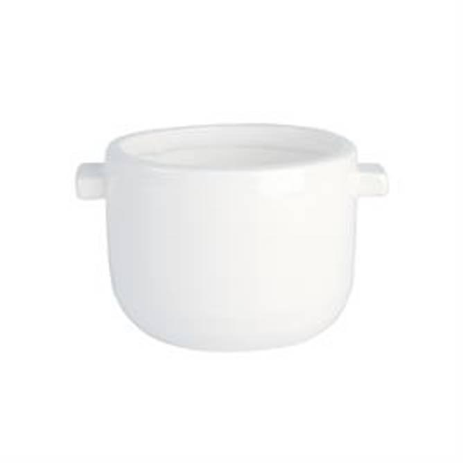 Bilde av Unice pot, white / 15x12x10