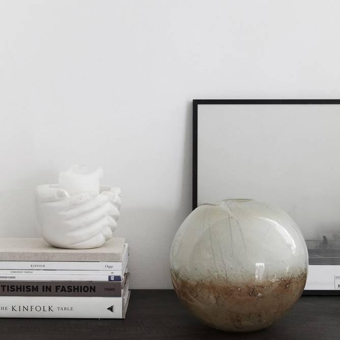 Bilde av Vase, Blown dia: 20 cm, h: