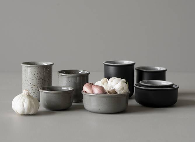 Bilde av Pinch bowl small grå Ø 9cm,