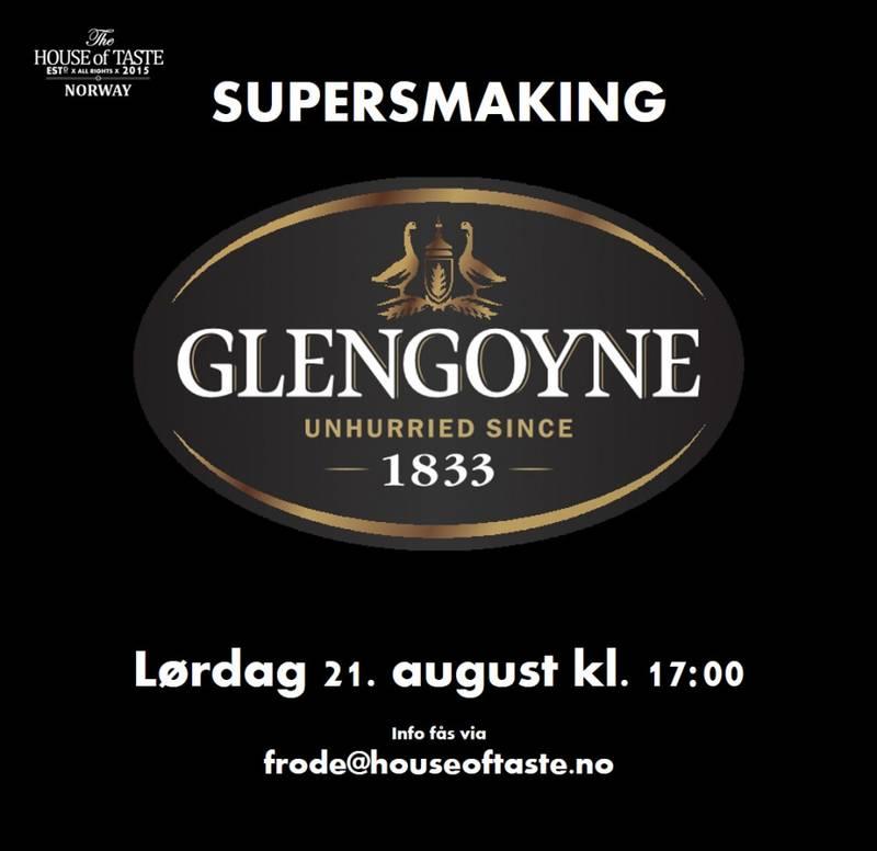 Bilde av Supersmaking - Glengoyne Distillery - lørdag 21. august kl.17:00