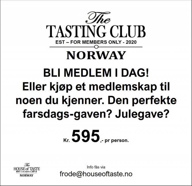 Bilde av Årsmedlemskap i The Tasting Club by House of Taste