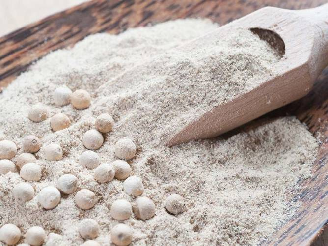 Bilde av Økologisk pepper hvit malt 1kg BESTILLINGSVARE