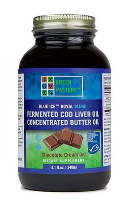 Bilde av BLUE ICE Royal™ sjokolade 240ml  (med vitamin A, D og K2)