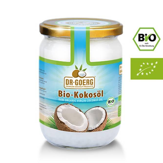 Bilde av Dr. Goergs økologisk extra virgin kokosolje 500ml