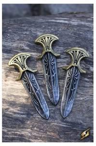 Bilde av Assassin Inquisitor knives - sett m/3 stk