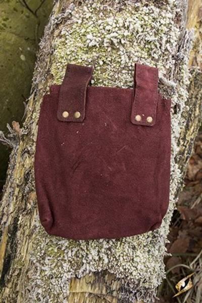 LeatherBag Thin -Brown- Large
