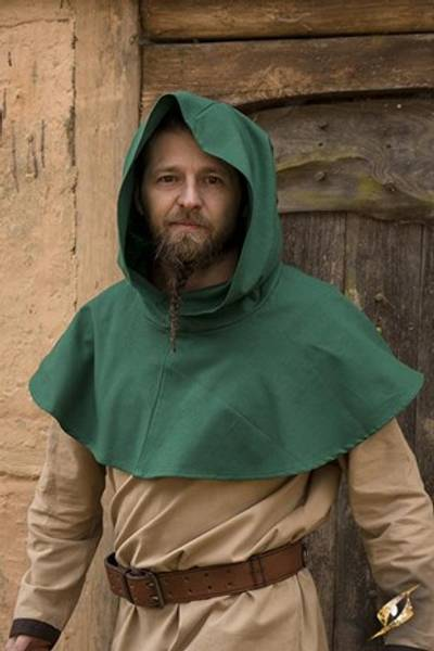 Hood Basic - Green small-medium