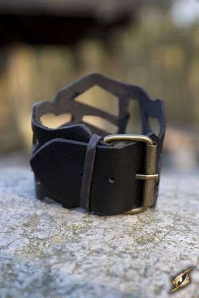 Filigree Bracelet Black 24cm