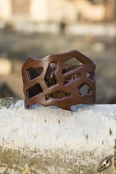 Filigree Bracelet Brown 24cm