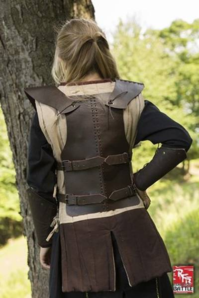 RFB Leather Armour- Brown- Small