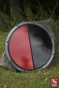 Bilde av RFB Round Shield Black/Red ø50cm